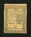 Colonial Notes:Pennsylvania, Pennsylvania October 1, 1773 20s About New....
