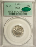 Barber Dimes: , 1912 10C MS65 PCGS. CAC. PCGS Population (129/47). NGC Census: (128/35). Mintage: 19,350,000. Numismedia Wsl. Price for NGC...