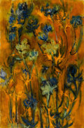 Texas:Early Texas Art - Modernists, RUTH TEARS (American, 1919-1971). Weeds of Fancy, 1959. Oilon canvas. 28 x 18-1/2 inches (71.1 x 47.0 cm). Signed and d...
