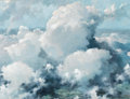 Fine Art - Painting, American:Modern  (1900 1949)  , ERIC SLOANE (American, 1910-1985). Parting Clouds, circa1930. Oil on masonite. 19-1/2 x 25-1/2 inches (49.5 x 64.8 cm)...
