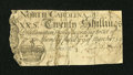 Colonial Notes:North Carolina, North Carolina March 9, 1754 20s Very Good....
