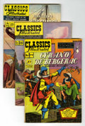 Golden Age (1938-1955):Classics Illustrated, Classics Illustrated First Editions Group (Gilberton, 1951-62) Condition: Average FN.... (Total: 13 Comic Books)