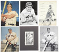 Autographs:Photos, Boston Red Sox Signed Photographs Lot Of Over 60....