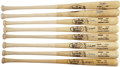 Autographs:Bats, Baseball Stars Signed Bat Lot Of 8....