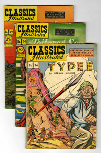 Classics Illustrated First Editions Group (Gilberton, 1947-61) Condition: Average VG.... (Total: 22 Comic Books)