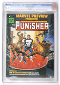 Magazines:Superhero, Marvel Preview #2 Punisher (Marvel, 1975) CGC VF+ 8.5 Whitepages....