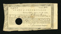 Colonial Notes:Connecticut, Connecticut Treasury-Office £9, 2 Shillings June 1, 1782 Fine....