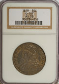 Bust Half Dollars: , 1819 50C AU55 NGC. O-107. NGC Census: (43/134). PCGS Population(37/93). Mintage: 2,208,000. Numismedia Wsl. Price for NGC...