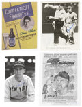Autographs:Photos, NY Yankees Signed Photograph Lot Of Over 40....