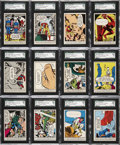 "Non-Sport Cards:Sets, 1966 Donruss ""Marvel Super Heroes"" Complete Set (66)...."
