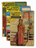 Golden Age (1938-1955):Classics Illustrated, Classics Illustrated Group (Gilberton, 1947-62) Condition: AverageFR.... (Total: 28 Comic Books)