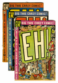 EH! #2-6 Group (Charlton, 1954) Condition: Average GD.... (Total: 5 Comic Books)