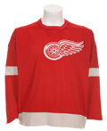Hockey Collectibles:Uniforms, Early 1970's Nick Libett Game Worn Jersey....