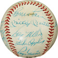 Autographs:Baseballs, Early 1960's All-Stars Signed Baseball with Mantle, Maris....