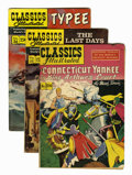 Golden Age (1938-1955):Classics Illustrated, Classics Illustrated Group (Gilberton, 1947-69) Condition: Average FN.... (Total: 16 Comic Books)