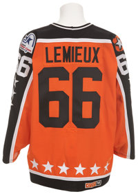 online retailer 399ea 09353 1988 Mario Lemieux All-Star Game Worn Jersey.... Hockey ...