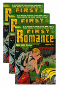 Golden Age (1938-1955):Romance, First Romance #8-10 File Copies Group (Harvey, 1951) Condition: Average VF-.... (Total: 13 Comic Books)