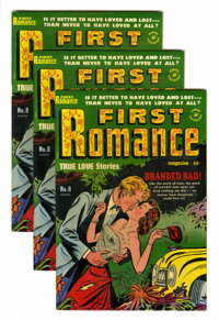 First Romance #8-10 File Copies Group (Harvey, 1951) Condition: Average VF-.... (Total: 13 Comic Books)