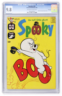 Spooky #87 File Copy (Harvey, 1965) CGC NM/MT 9.8 Off-white to white pages