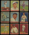 Baseball Cards:Lots, 1933 R319 Goudey Baseball Collection (26). ...