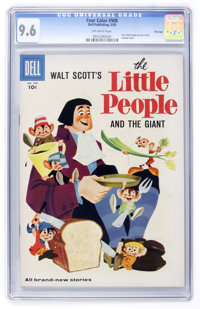 Four Color #908 The Little People and the Giant - File Copy (Dell, 1958) CGC NM+ 9.6 Off-white pages