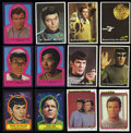 Non-Sport Cards:Sets, 1976 Topps Star Trek (88+22) and 1979 Topps Star Trek (88+22)Complete Sets. ... (Total: 2 sets)