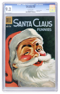 Four Color #958 Santa Claus Funnies - File Copy (Dell, 1958) CGC NM- 9.2 Off-white pages