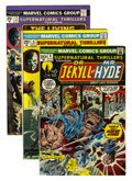 Bronze Age (1970-1979):Horror, Supernatural Thrillers Group (Marvel, 1973-75).... (Total: 6 ComicBooks)