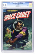 Golden Age (1938-1955):Science Fiction, Tom Corbett Space Cadet #6 File Copy (Dell, 1953) CGC VF/NM 9.0Off-white pages....