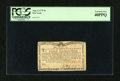 Colonial Notes:New York, New York August 2, 1775 (Water Works) 4s PCGS Extremely Fine40PPQ....