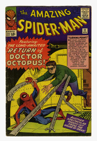 The Amazing Spider-Man #11 (Marvel, 1964) Condition: Apparent VG+