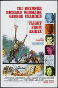 "Movie Posters:Adventure, Flight from Ashiya (United Artists, 1964). One Sheet (27"" X 41"")and Pressbook (Multiple Pages, 13"" X 18""). Adventure.. ... (Total:2 Items)"