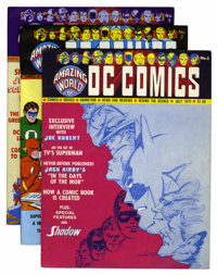 Amazing World of DC Comics Group (DC, 1974-78) Condition: Average VF+.... (Total: 14 Comic Books)