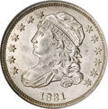 Bust Dimes, 1831 10C MS67 NGC. CAC....