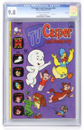 Bronze Age (1970-1979):Cartoon Character, TV Casper and Company #46 File Copy (Harvey, 1974) CGC NM/MT 9.8Off-white to white pages....