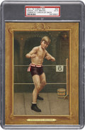 Boxing Cards:General, 1911 T9 Turkey Red #66 Knock-Out Brown PSA EX 5. ...