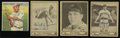 Autographs:Sports Cards, 1933-1940 Baseball Signed Cards Collection (4). ... (Total: 4cards)