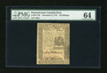 Colonial Notes:Pennsylvania, Pennsylvania December 8, 1775 30s PMG Choice Uncirculated 64....