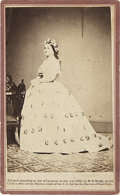 Photography:CDVs, Brady/Anthony Carte de Visite Portrait of Mary Lincoln. Rather scarce view in fine condition. Photo service labe...