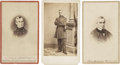 Photography:CDVs, Nice Group of Three Carte De Visite Portraits of Robert Anderson, the Hero of Ft. Sumter.... (Total: 3 Items)