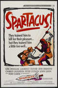 "Movie Posters:Adventure, Spartacus (Universal International, 1960 & R-1967). One Sheet(27"" X 41""), Lobby Cards (2) (11"" X 14"") and Pressbook (Multip...(Total: 4 Items)"