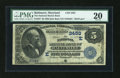National Bank Notes:Maryland, Baltimore, MD - $5 1882 Date Back Fr. 537 The National Marine BankCh. # (E)2453. ...