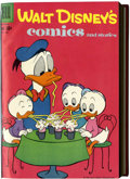 Silver Age (1956-1969):Cartoon Character, Walt Disney's Comics and Stories #229-240 Bound Volume (Dell, 1959-60)....