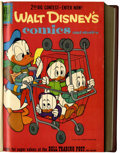 Silver Age (1956-1969):Cartoon Character, Walt Disney's Comics and Stories #253-264 Bound Volume (Dell, 1961-62)....