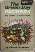 Football Collectibles:Publications, Green Bay Packers Signed Book....
