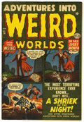Golden Age (1938-1955):Horror, Adventures Into Weird Worlds #14 (Atlas, 1953) Condition: FN-....
