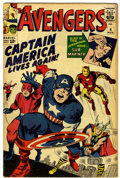 Silver Age (1956-1969):Superhero, The Avengers #4 (Marvel, 1964) Condition: VG+....