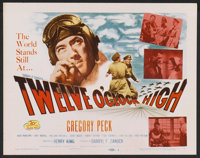 "Twelve O'Clock High (20th Century Fox, R-1955). Lobby Card Set of 8 (11"" X 14""). War. ... (Total: 8 Items)"