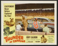 """Movie Posters:Sports, Thunder in Carolina (Howco, 1960). Lobby Card Set of 8 (11"""" X 14""""). Sports.. ... (Total: 8 Items)"""
