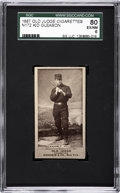 Baseball Cards:Singles (Pre-1930), 1887 N172 Old Judge Kid Gleason SGC 80 EX/NM 6....